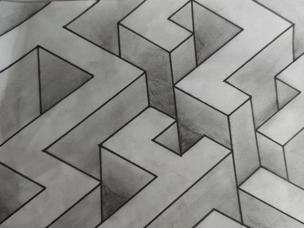 RWB Essen - Bild des Monats - Dominik Weitz - Bleistiftzeichnung