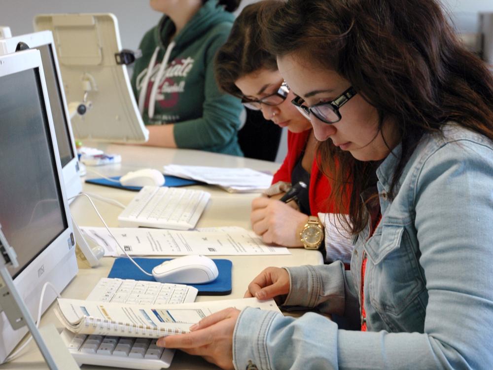 RWB Essen Wirtschaft und Verwaltung Arbeit am Computer 2