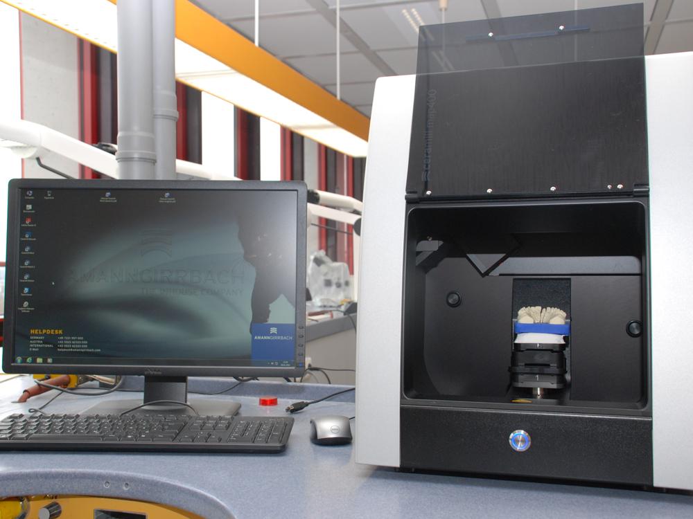 RWB Essen Zahntechnik 3D Scanner 2