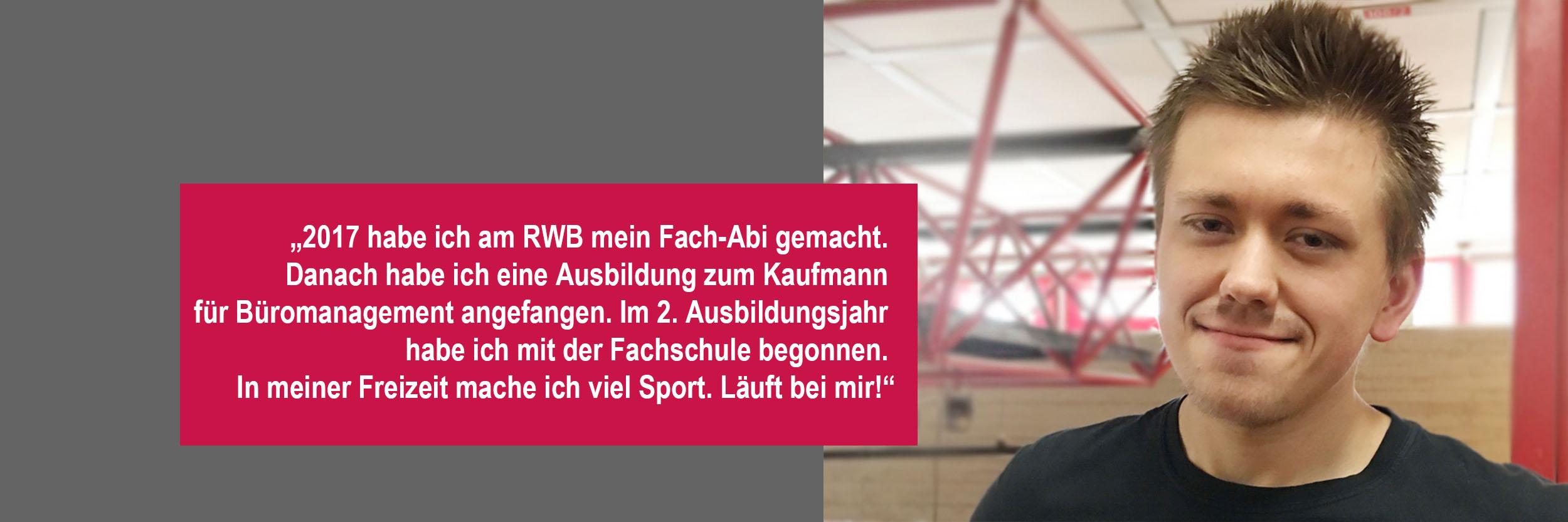 RWB Essen - Schülerporträts