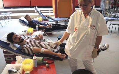 Blutspendeaktion am RWB