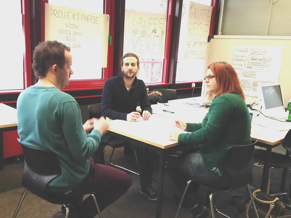 RWB Essen - Fachschule für Wirtschaft – Fachrichtung Wirtschaftsinformatik - Arbeitssituation in der Projektgruppe