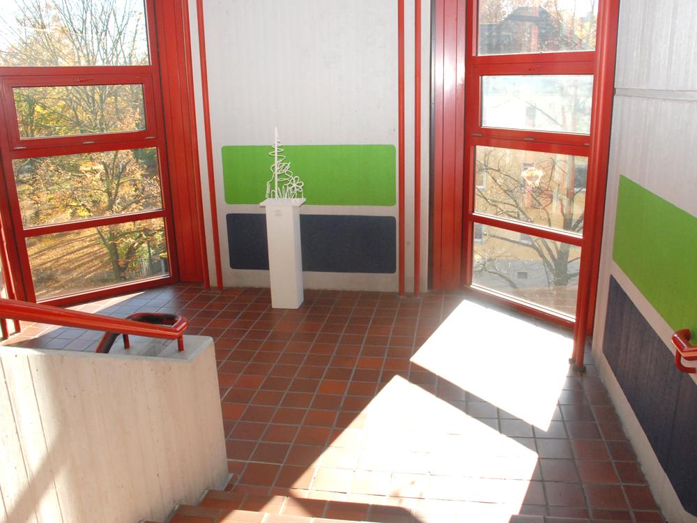 RWB Essen Schule Rundgang Treppenhaus 3