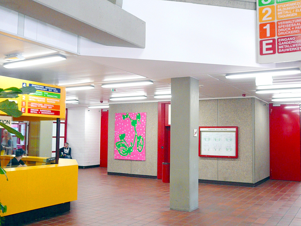 RWB Essen Schule Rundgang Eingang Info