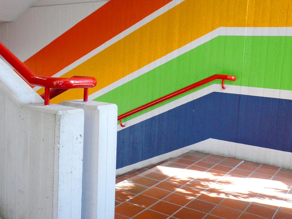 RWB Essen Schule Rundgang Treppenhaus 2