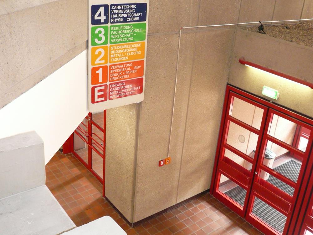 RWB Essen - Rundgang Gebäude - Galerie in der 1. Etage