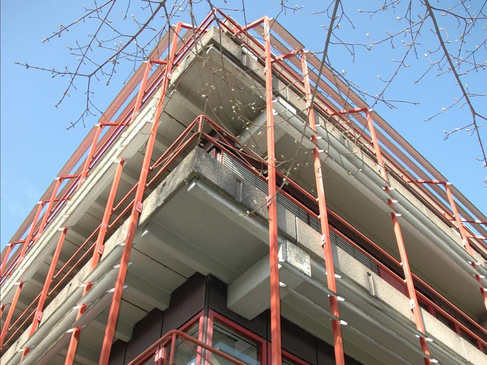 RWB Essen Schule Rundgang Gebäude außen 2
