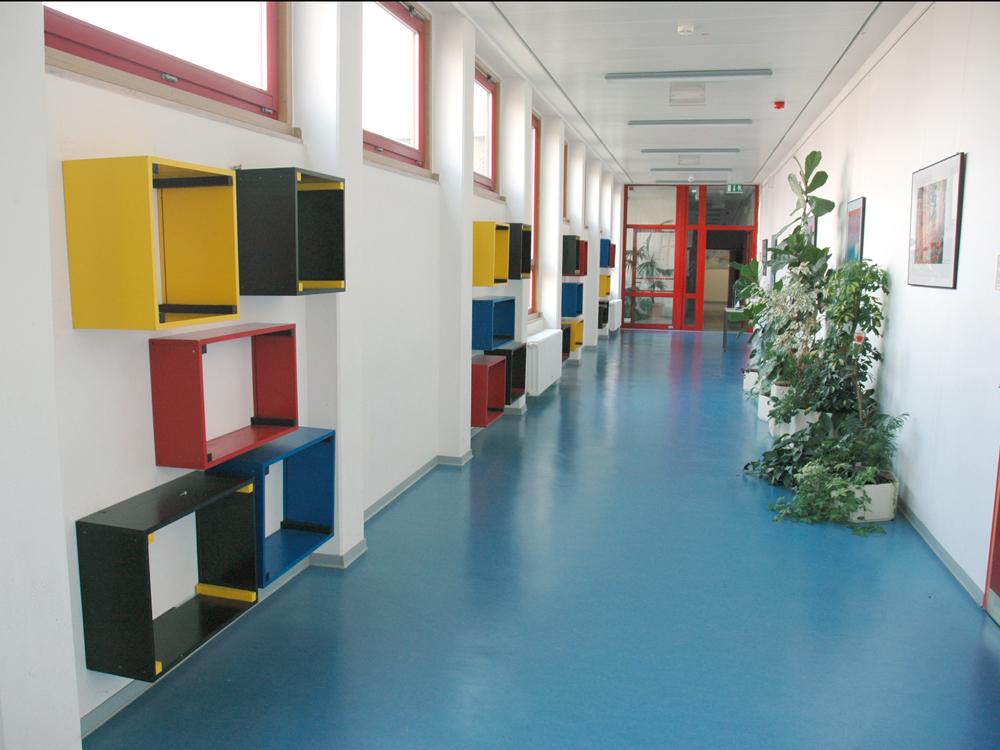 RWB Essen Schule Rundgang Durchgang Gebäude C