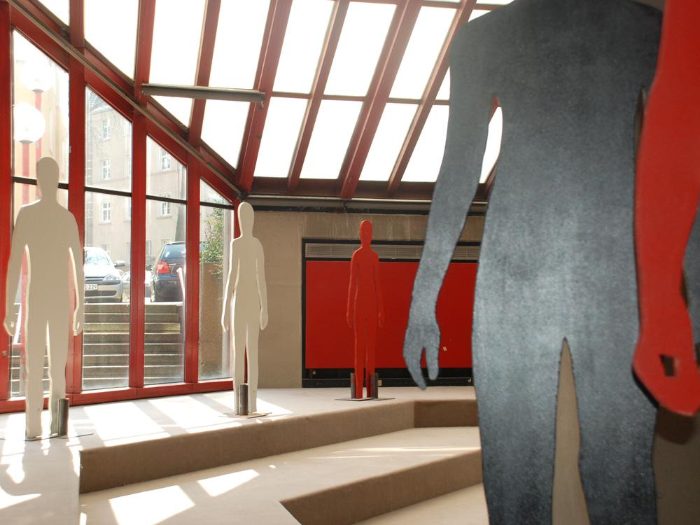 RWB Essen - Rundgang Gebäude - Kunst im Pädagogischen Zentrum