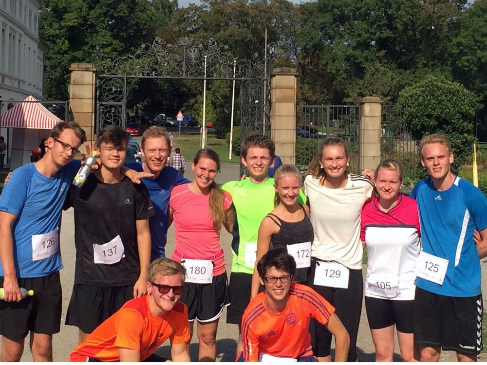 TeilnehmerInnen am Schlossquelle-Lauf 2016