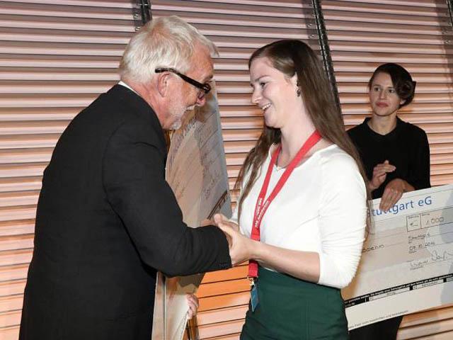 RWB Essen - Schuhmacherhandwerk - Gratulation zur Kammersiegerin  (Bildquelle: HWK Reutlingen)