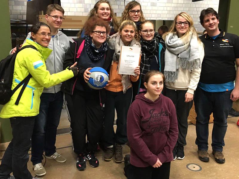 RWB Essen - Basketballturnier Osnabrück - Team Mädchen - Ehrung