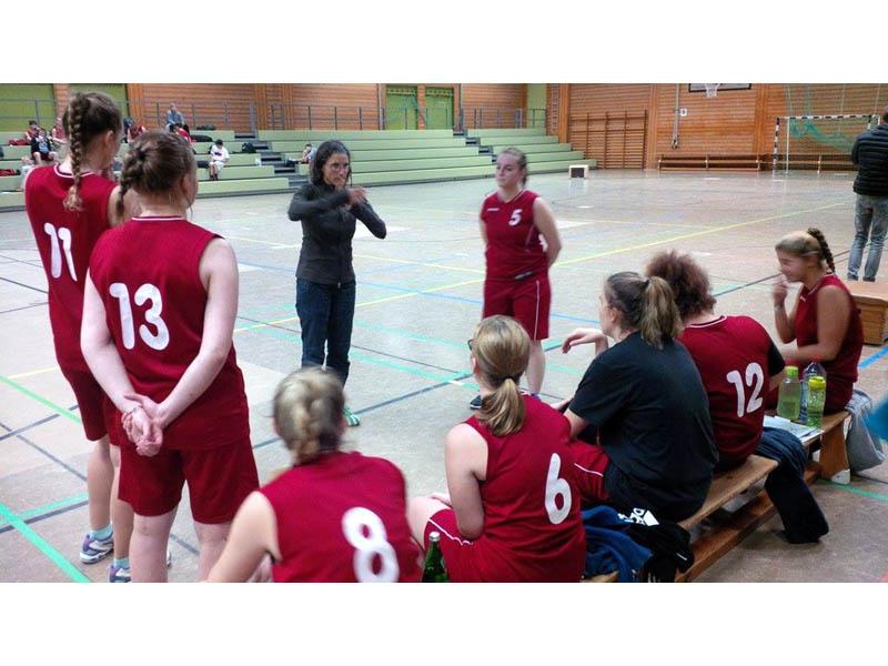 RWB Essen - Basketballturnier Osnabrück - Teambesprechung