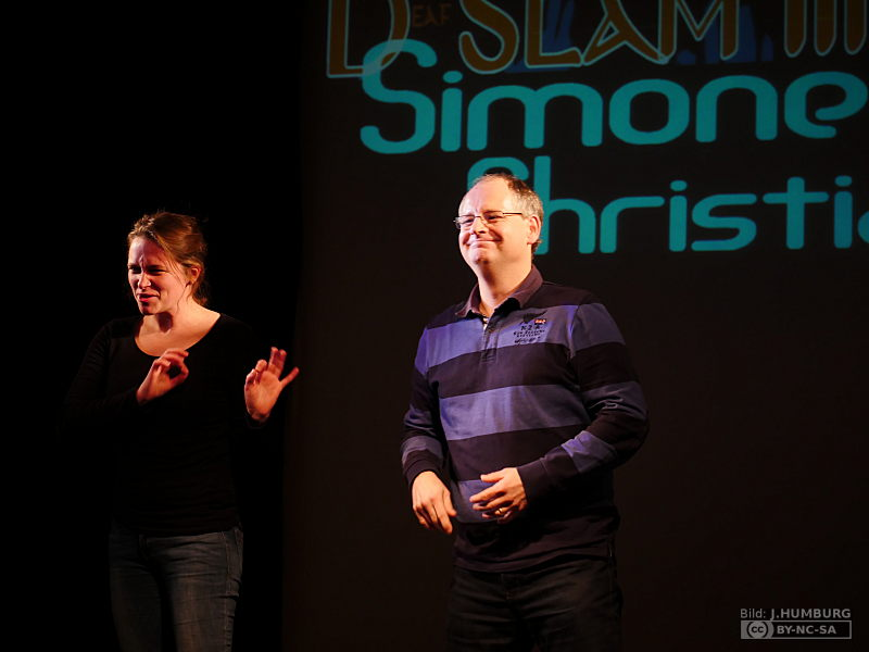 RWB Essen - Deaf Slam III - Moderatoren