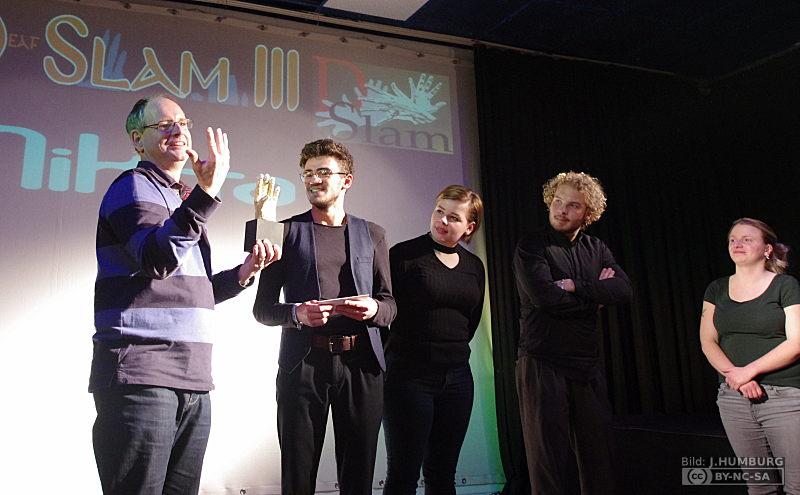 RWB Essen - Deaf Slam III - Preisverleihung