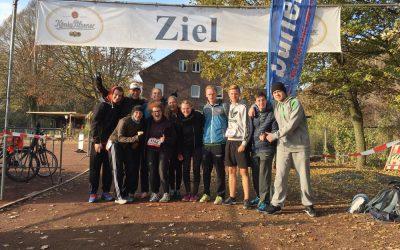 RWB-Triathlon AG beim Biegerparklauf in Duisburg