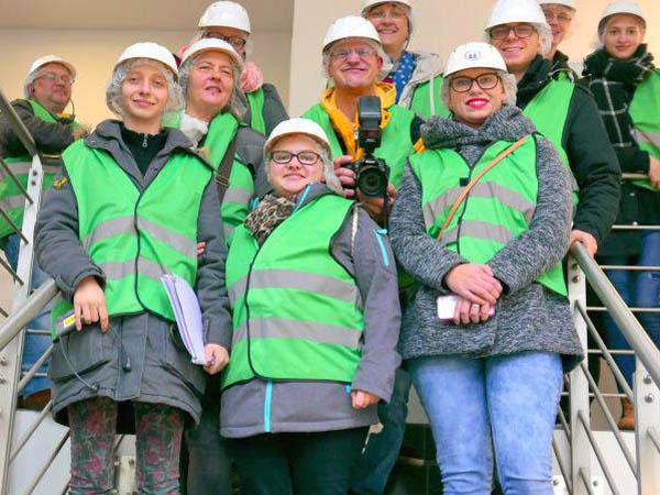 RWB Essen - Besuch der Zuckerfabrik - Gruppenbild