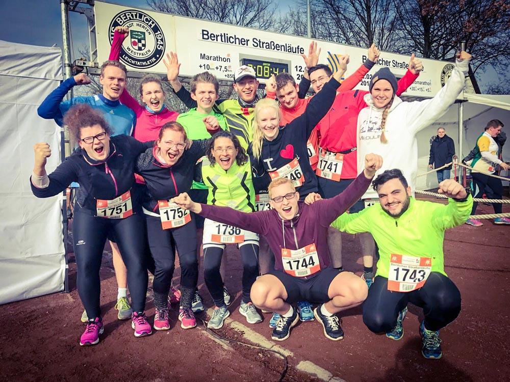 RWB Essen - Bertlicher Lauf - Gruppenfoto