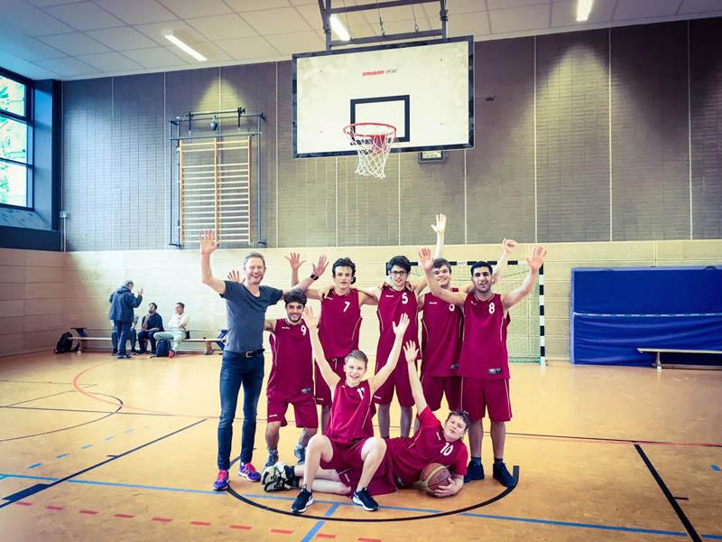 RWB Essen - Basketball-Schülermeisterschaften in Berlin 2017 - Vizemeister