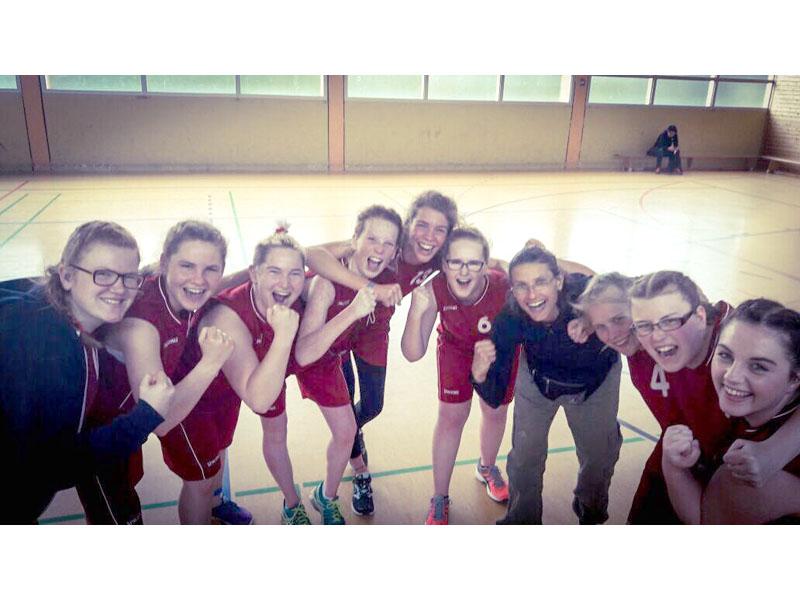 RWB Essen - Basketball-Schülermeisterschaften in Berlin 2017- Vizemeisterinnen