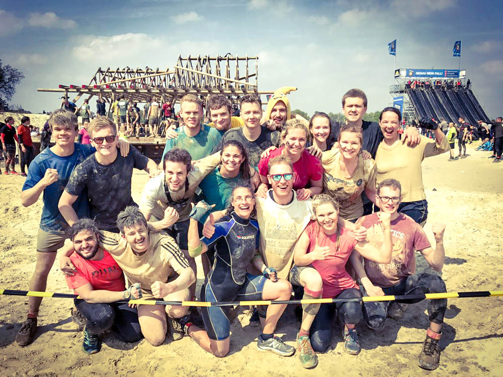 RWB Essen - Mud Masters in Weeze - Gruppenfoto