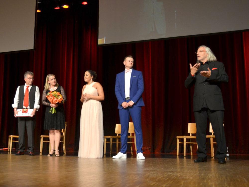 RWB Essen - Abiturfeier 2017 -  Das Moderatoren-Team