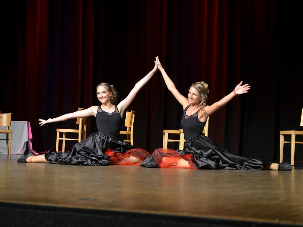 RWB Essen - Abiturfeier- 2017 - Tanzvorführung Can-Can