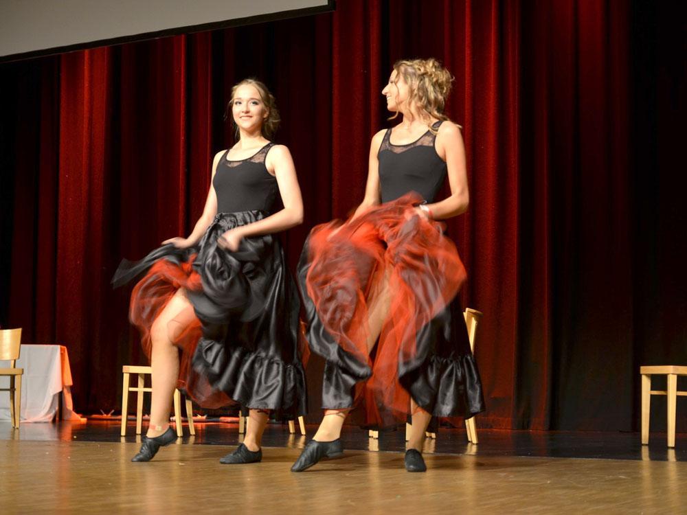 RWB Essen - Abiturfeier 2017 - Tanzvorführung Can-Can