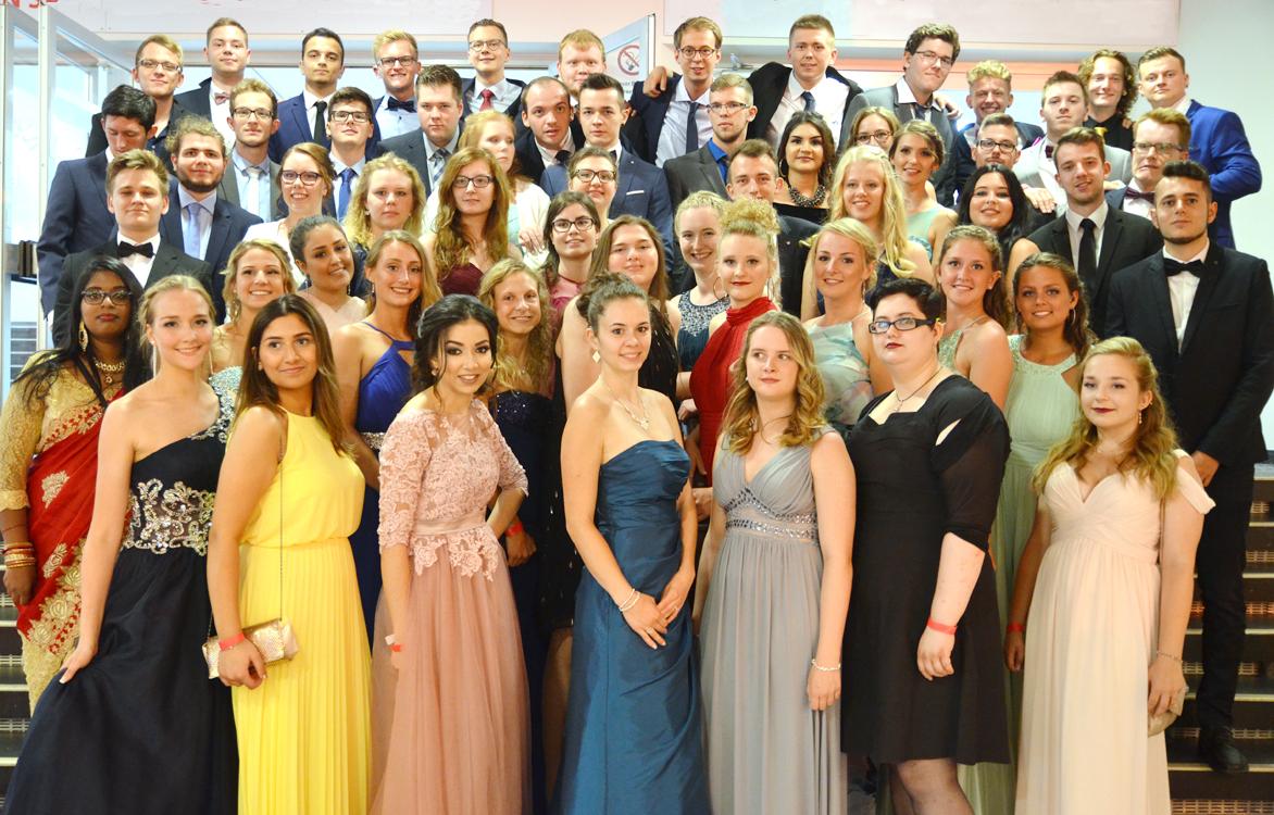 RWB Essen - Abiturfeier 2017 - Abiturientinnen und Abiturienten