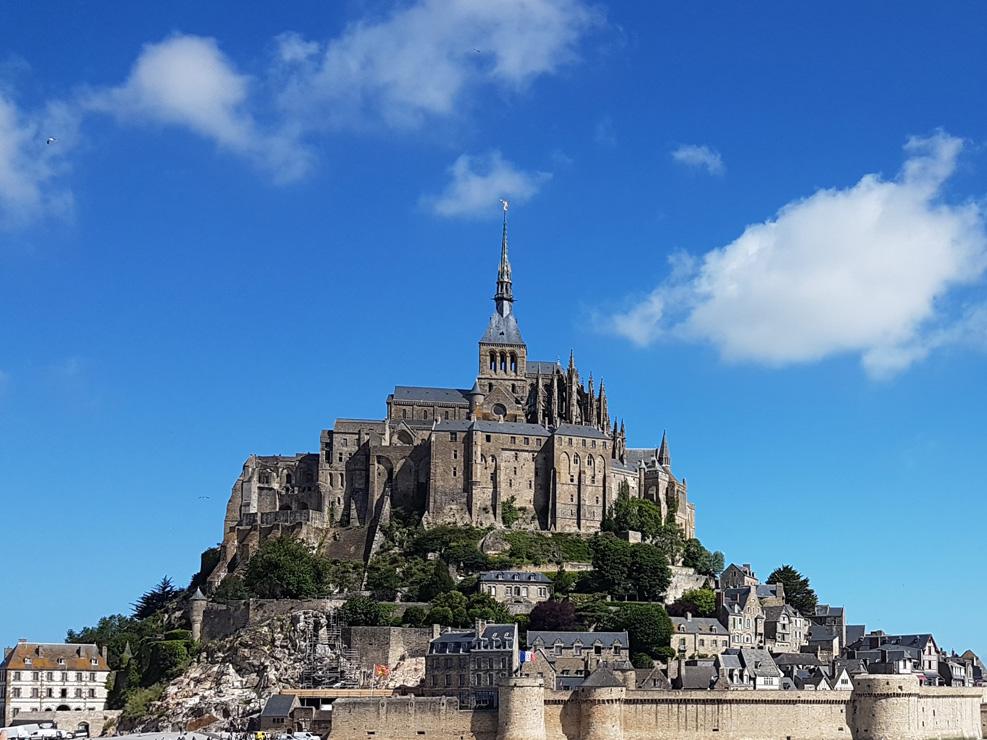 RWB Essen - Spreadthesign in Rennes - Tagesausflug zum Mont Saint Michelle