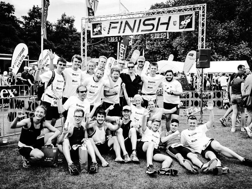 RWB Essen - Triathlon AG - Volksdistanz am Aasee in Bocholt - Teilnemerinnen und Teilnehmer