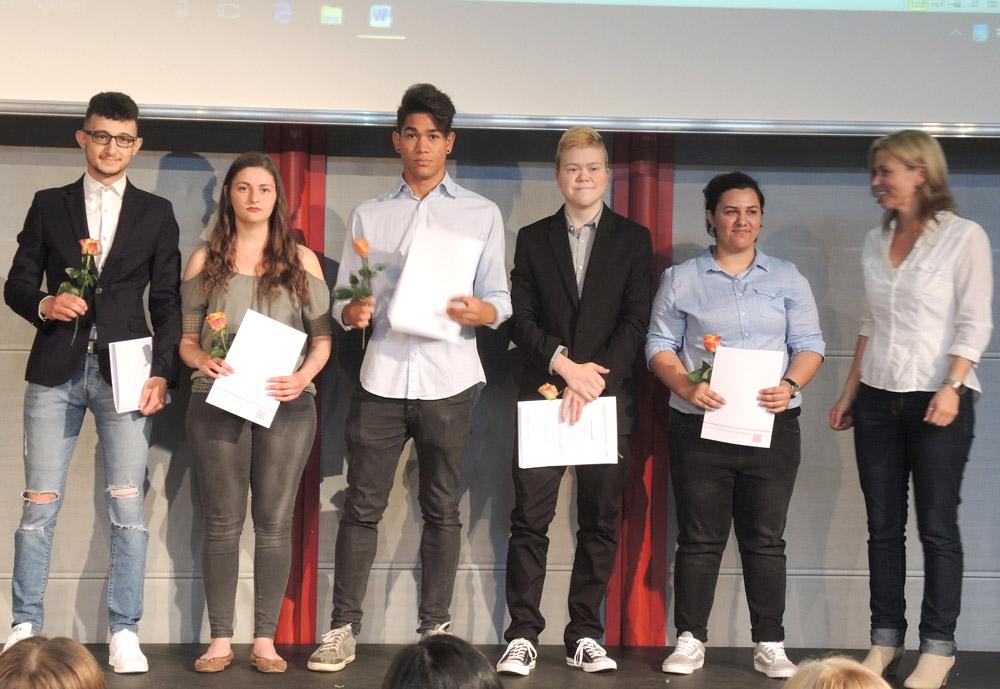 RWB Essen - Abschlussfeier Berufsfachschule 2017 - Klasse 1B161