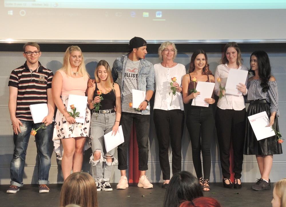 RWB Essen - Abschlussfeier Berufsfachschule 2017 - Klassen 2B161, 2B163 und 2B263