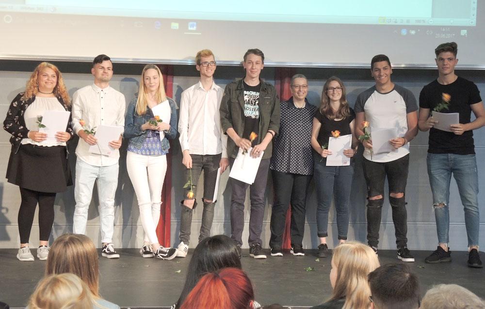 RWB Essen - Abschlussfeier Berufsfachschule 2017 - Klassen 2B261 und 2B262