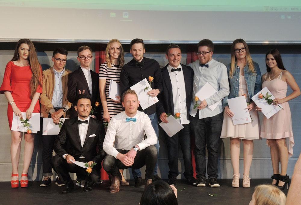 RWB Essen - Abschlussfeier Berufsfachschule 2017 - Klasse 5B261