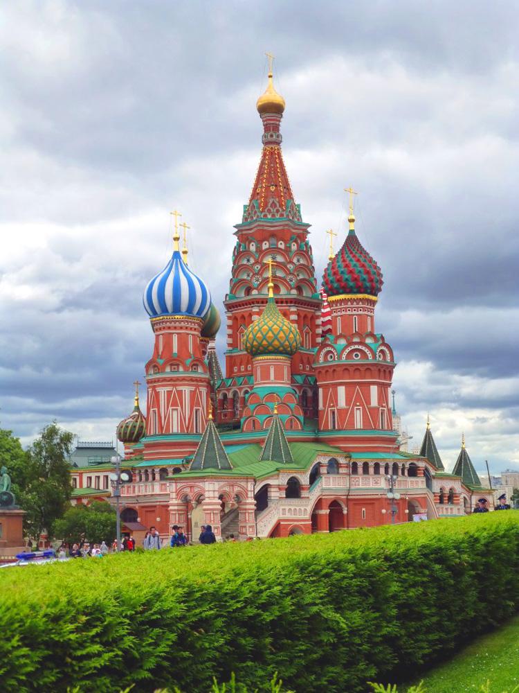 RWB Essen - Studienfahrt nach Russland - Basiliuskathedrale/Roter Platz