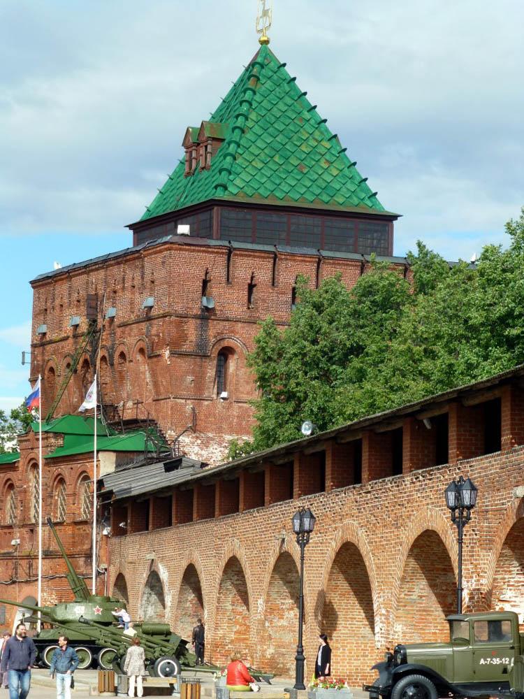 RWB Essen - Studienfahrt nach Russland - Kreml in Nischnij Nowgorod