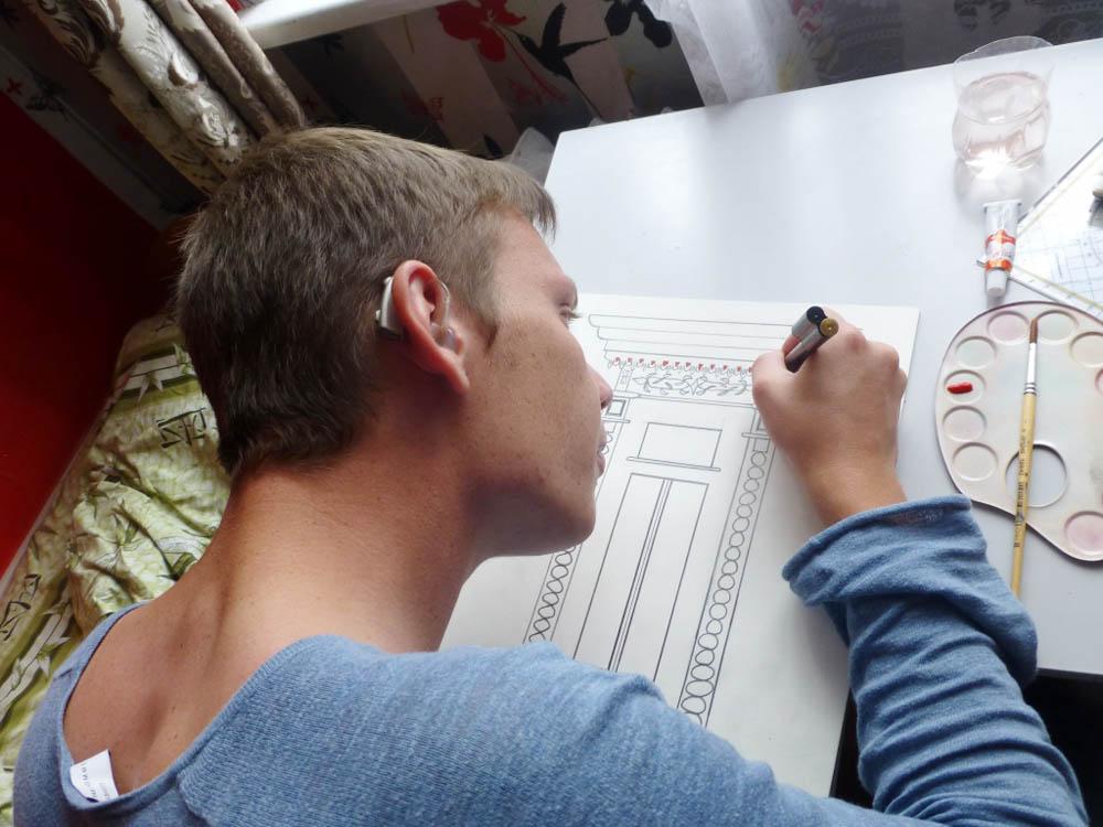 RWB Essen - Studienfahrt nach Russland - Kunstprojekt Zeichnen