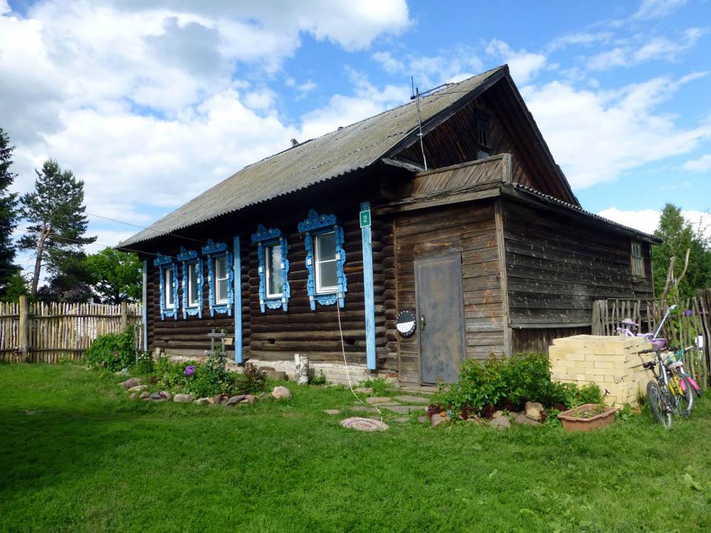RWB Essen - Studienfahrt nach Russland -  Besuch eines Bauerndorfs