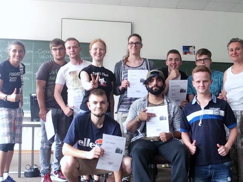 """RWB Essen- Projekttag """"Hörgeschädigtenkunde"""" - Teilnehmerinnen und Teilnehmer"""