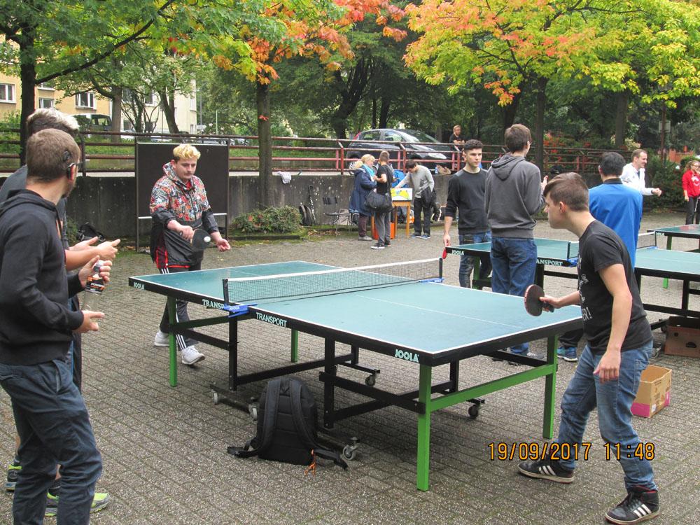 RWB Essen - Sportfest 2017 - Tischtennis