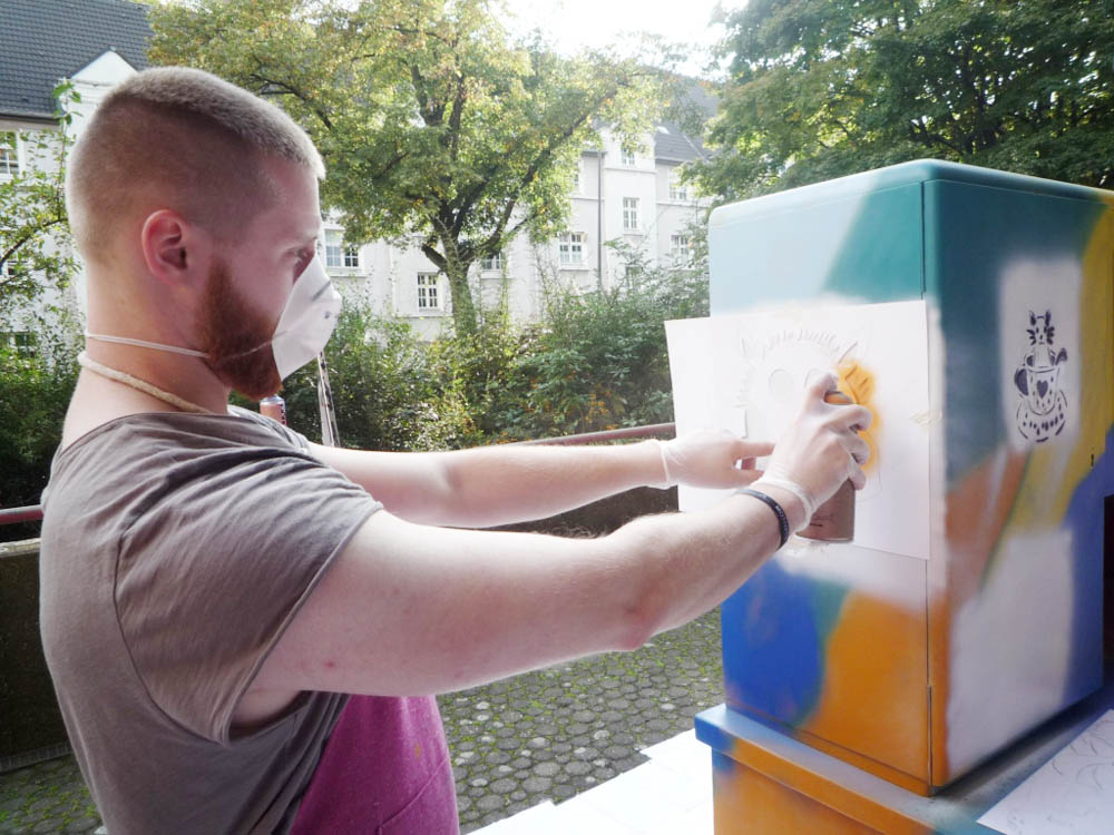 RWB Essen - Graffiti-Projekt 2017 - Aktion