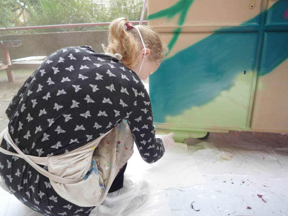 RWB Essen - Graffiti-Projekt 2017 - Aktion