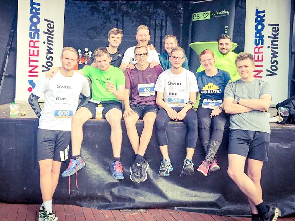 RWB Essen - Triathlon-AG - Centrolauf in Oberhausen - die Finalisten