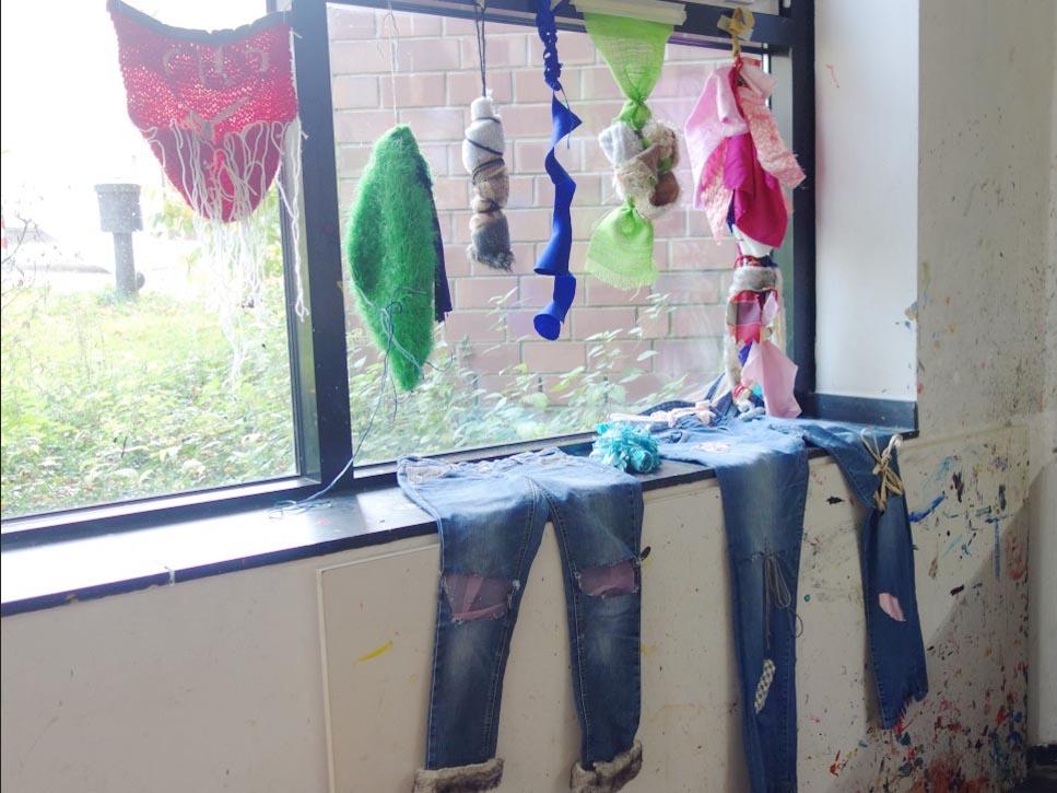 RWB Essen - Besuch des Textilmuseums in Gelsenkirchen - Präsentation der Schülerarbeiten