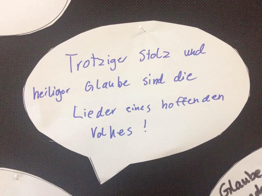 RWB Essen - Lutheraktion - Beitrag
