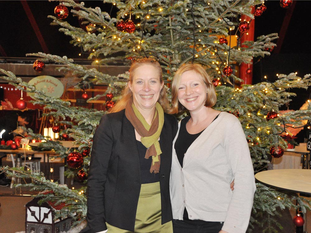 RWB Essen - Weihnachtsmarkt 2017 - Besucherinnen und Besucher