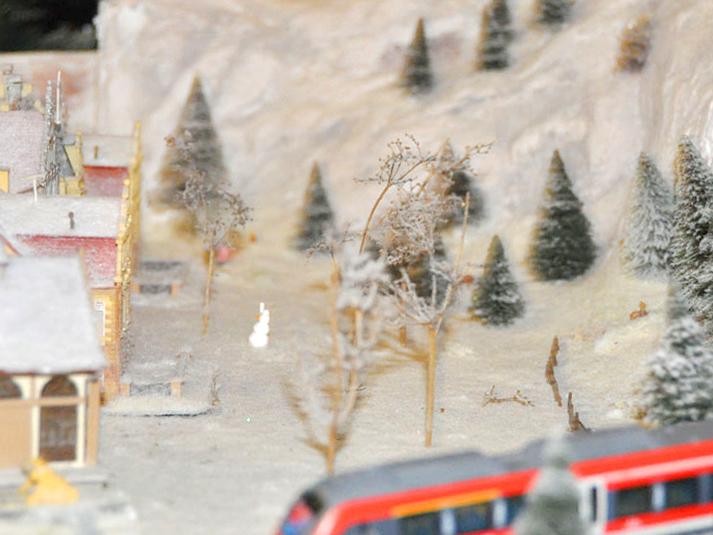 RWB Essen - Weihnachtsmarkt 2017 - Modelleisenbahn