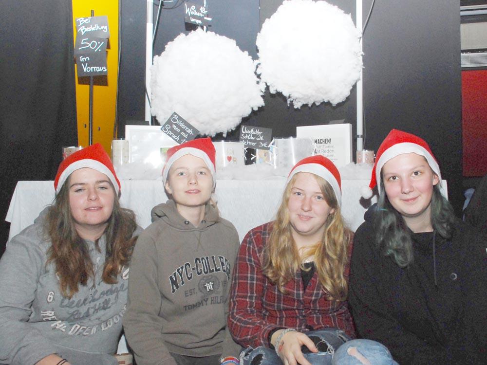 RWB Essen - Weihnachtsmarkt 2017 - Verkaufsstand für Lichtobjekte
