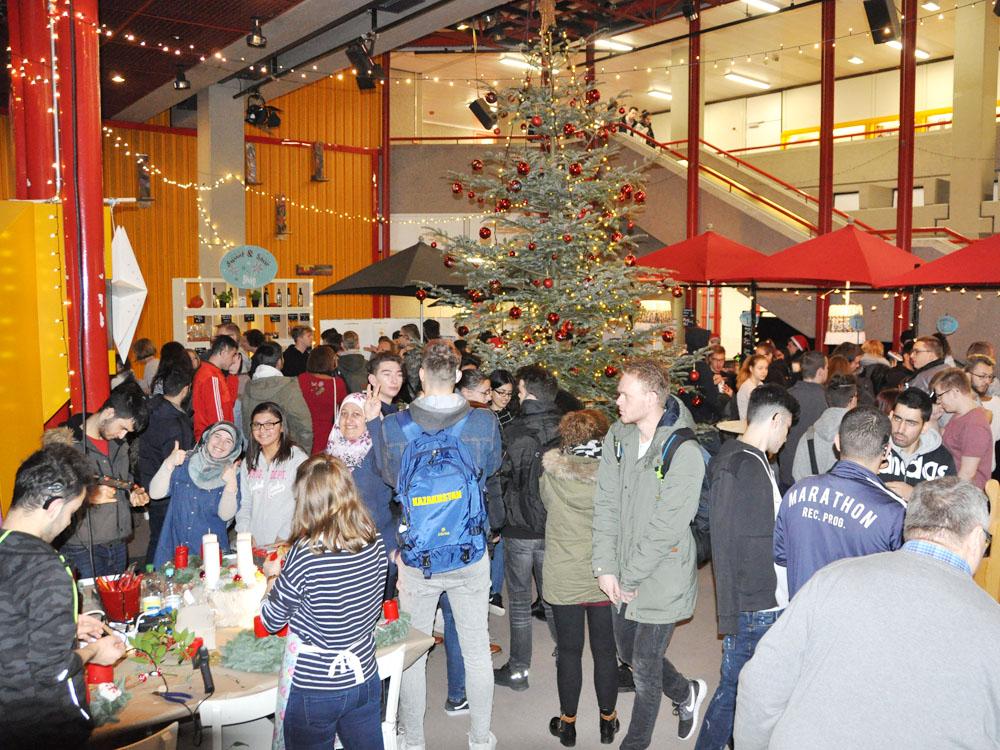 RWB Essen - Weihnachtsmarkt 2017 - Weihnachtsmarkt im Pädagogischen Zentrum